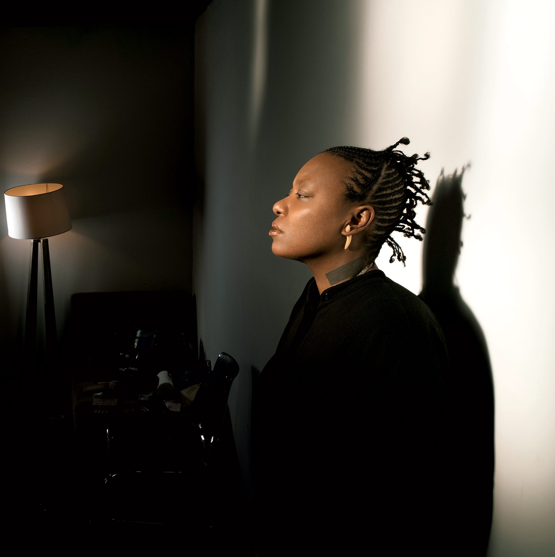 Photograph of Ndegeocello by Charlie Gross.