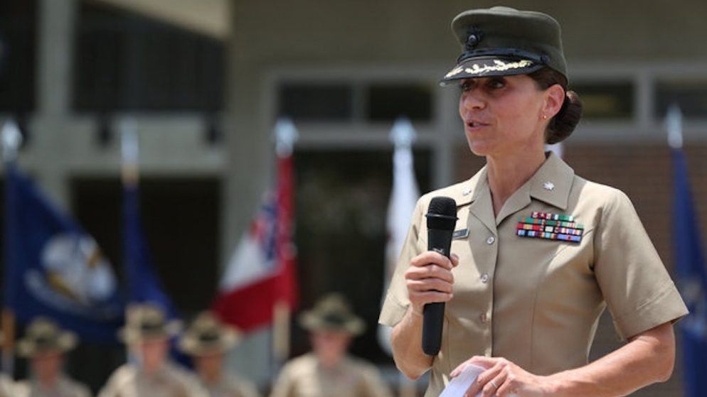 Under Her Command, Performance of Female Recruits Soared. Then the Marines Fired Her.