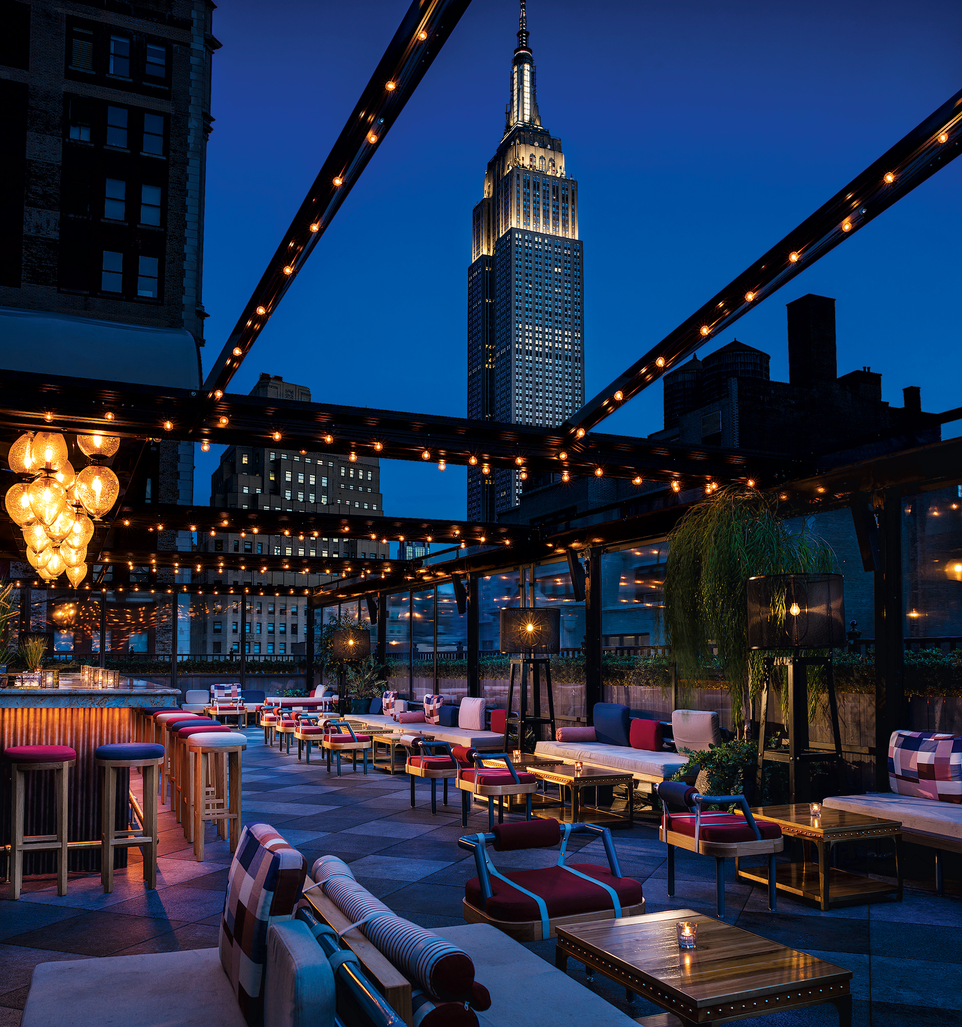 Magic Hour lounge offers a magical view of New York
