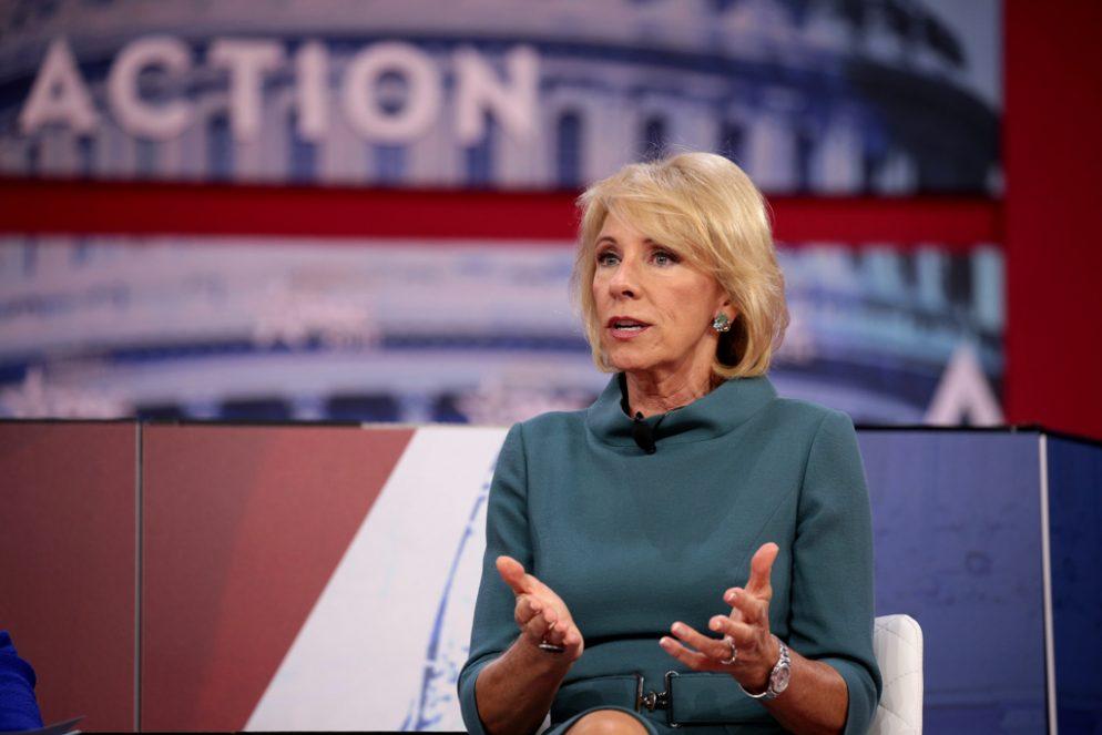 Betsy DeVos's Investment in DC Distillery Draws Boycott Threats