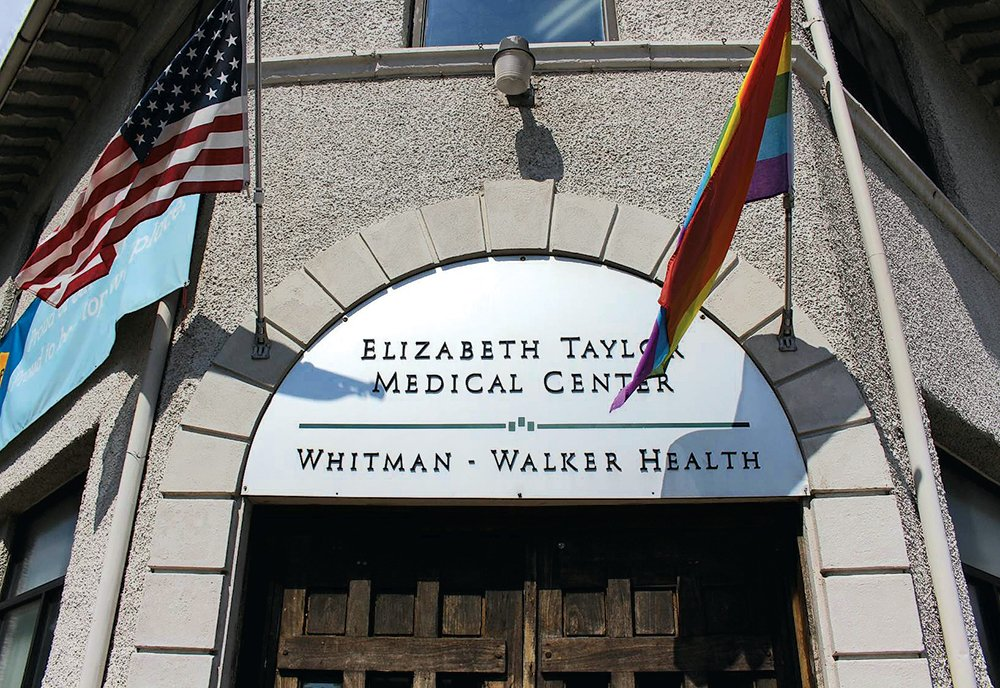 Whitman-Walker clinic's arrival helped establish the corridor as a center of gay Washington. Photograph courtesy of Whitman-Walker Health.