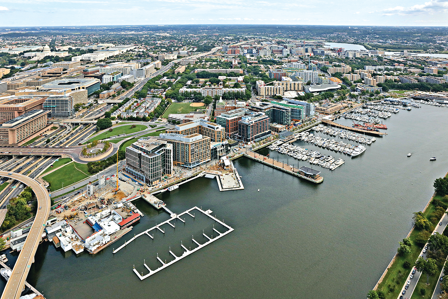 Rendering of Waterfront Courtesy of The Wharf.