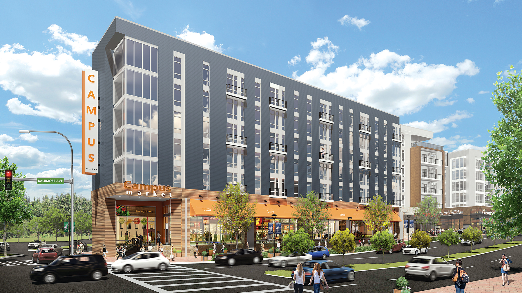 Rendering of College Park Courtesy of the Bozzuto Group.