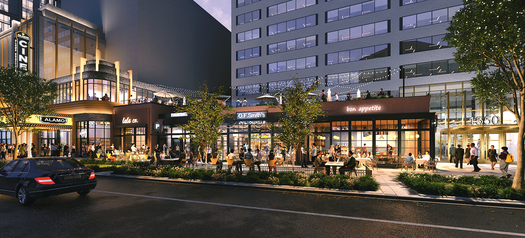 Rendering of Crystal City Courtesy of JBG Smith.