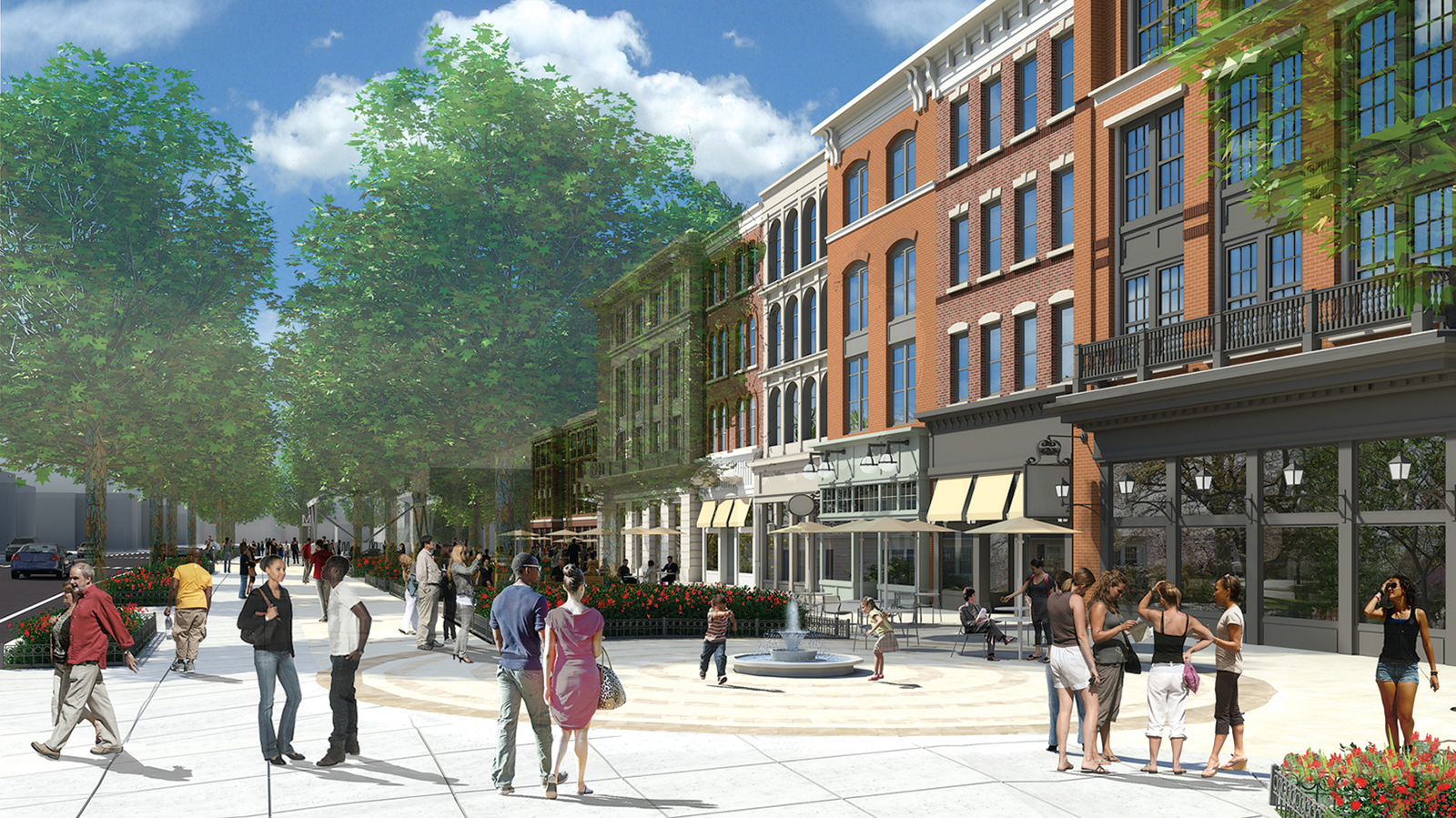 Rendering of Hill East courtesy of Donatelli Development.