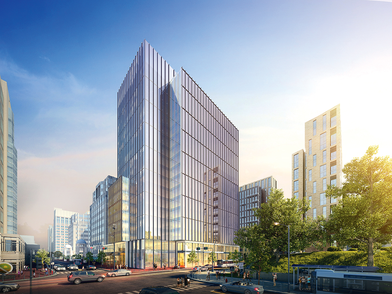 Rendering of Reston Courtesy of Boston Properties.