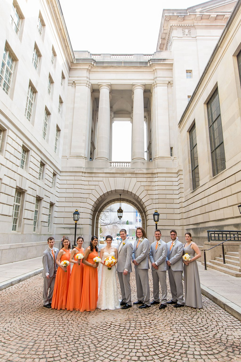 Chemistry-Themed Wedding With Periodic Table Decor In Downtown DC