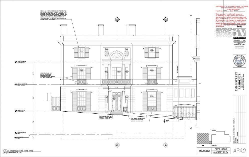 Here Are The Floor Plans For Jeff Bezosu0027s $23 Million DC Home