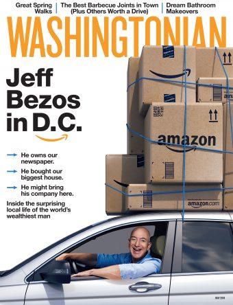 May 2018: Jeff Bezos in D.C.