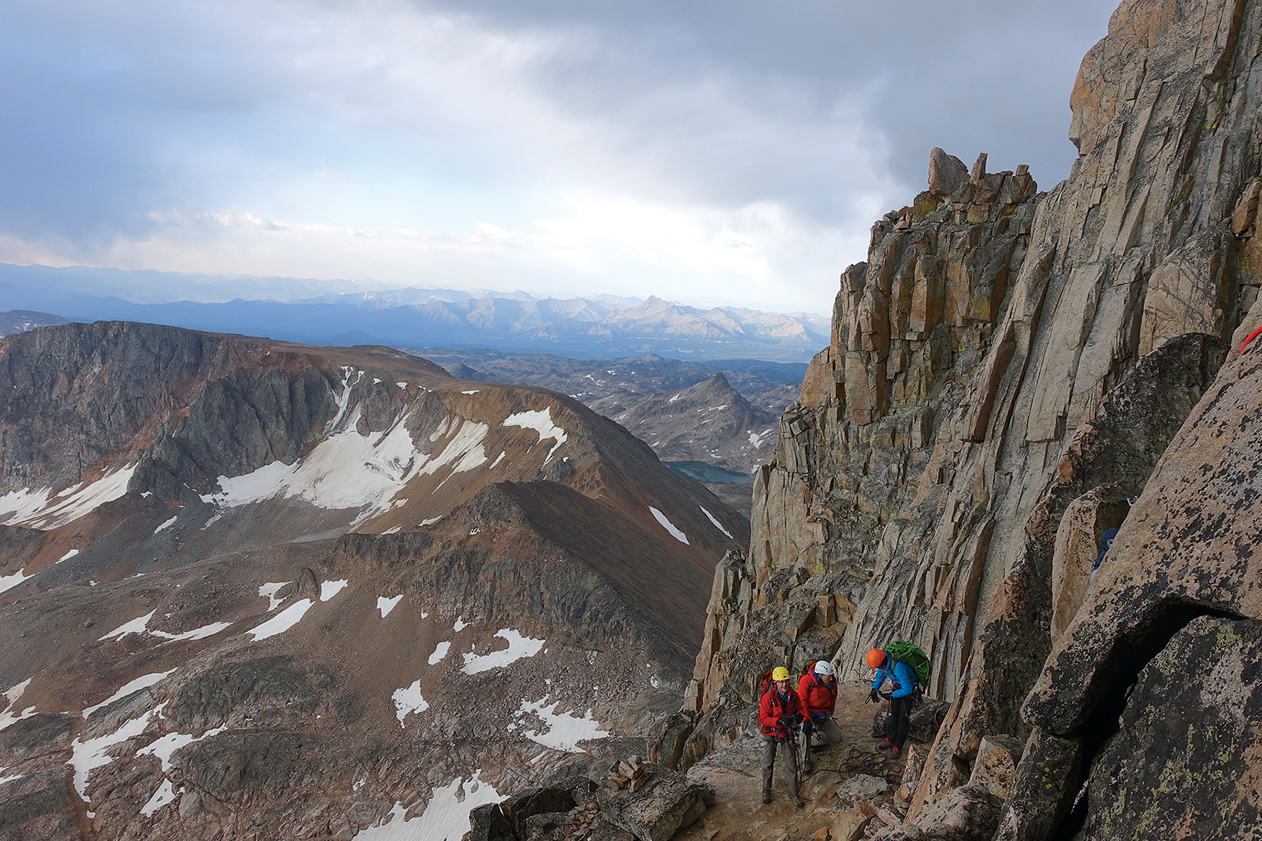 Roger Pierson summited Montana's Granite Peak in 2016. Photograph Courtesy of Roger B. Pierson Jr.