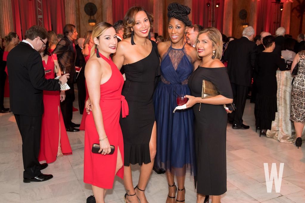 Rania Nazhat, Courtney Crittenden, Anovia Daniels, and Sarah Gafar.