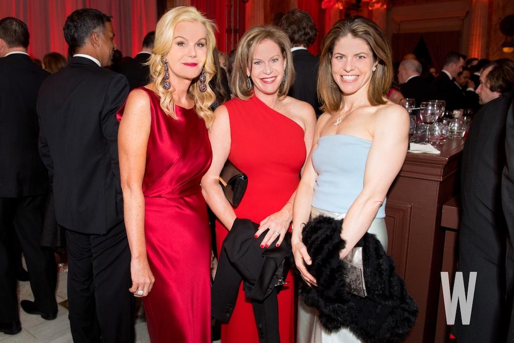 Susanna Quinn, Stephanie Cutter, and Gloria Riviera.