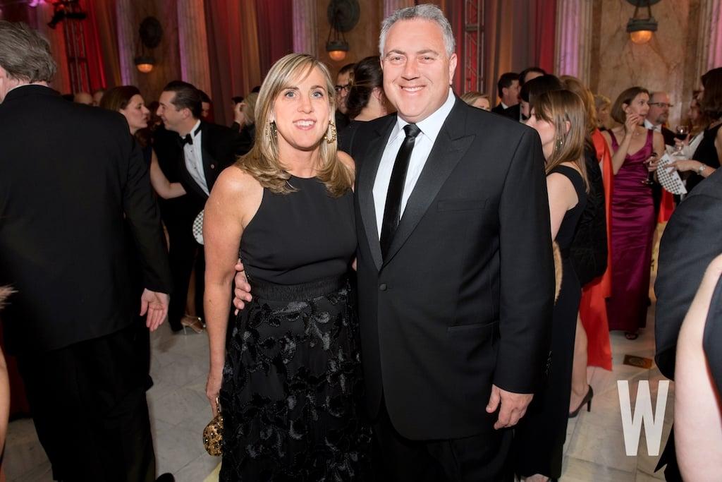 Melissa Babbage and Australian Ambassador Joe Hockey.