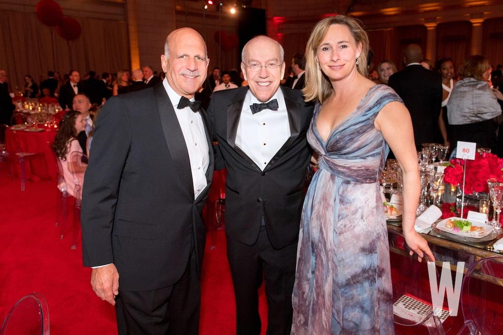 Dave Dorros, Children's National President & CEO Kurt Newman, M.D., and Dr. Caroline Van Vleck.