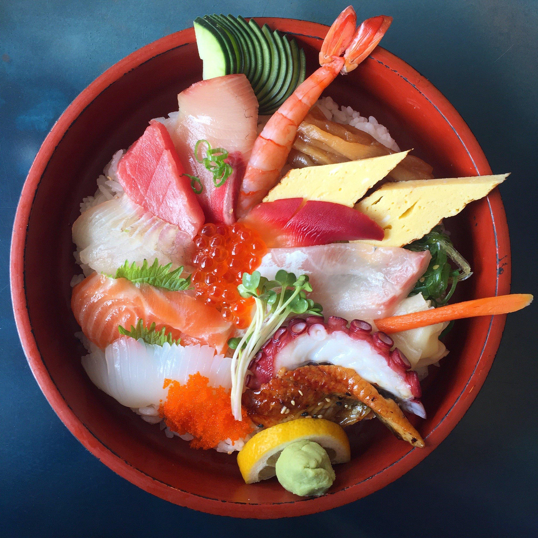 chirashi, sushi, Hinata Sushi Carryout, Best Japanese, DC