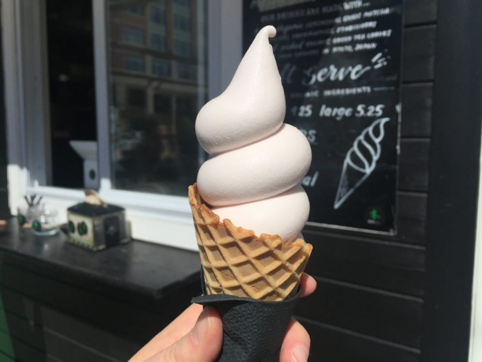 This Sakura Soft-Serve Ice Cream Is One Cherry Blossom Special We Can Actually Get Behind