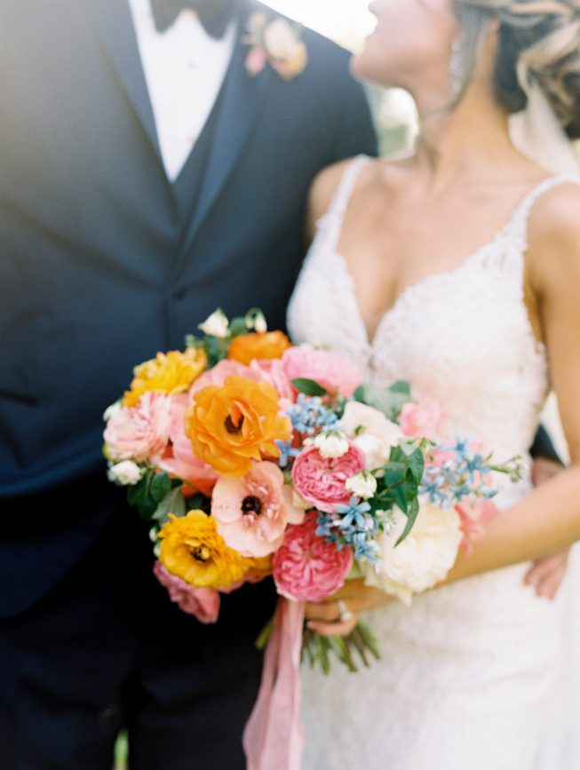 Jenna and Ben Bubblegum Pink Wedding | Renee Hollingshead USNA-27