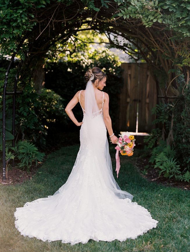 Jenna and Ben Bubblegum Pink Wedding | Renee Hollingshead USNA-29