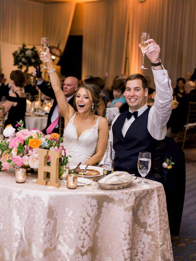 Jenna and Ben Bubblegum Pink Wedding | Renee Hollingshead USNA-39