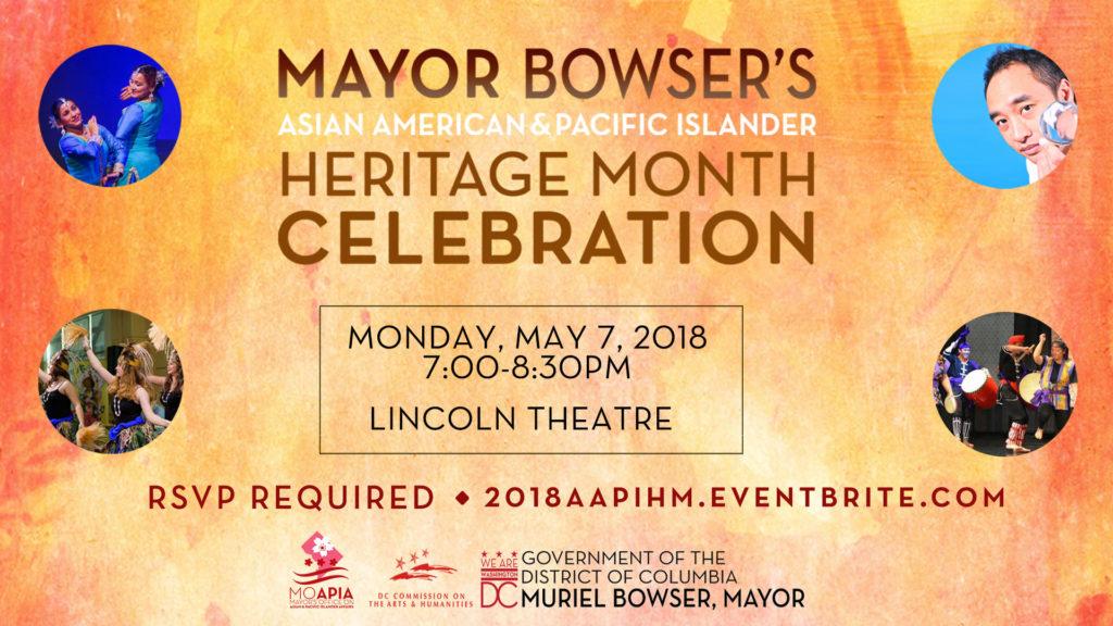 Mayor's 2018 Asian American & Pacific Islander Heritage Month Celebration