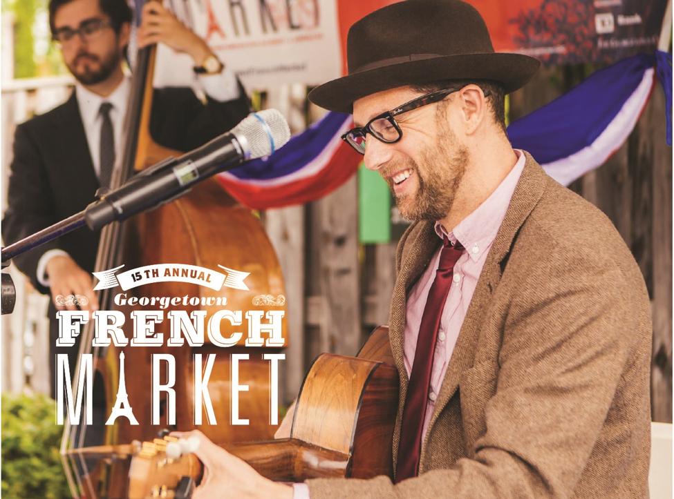 Bonjour! Georgetown French Market Returns April 27 – 29!