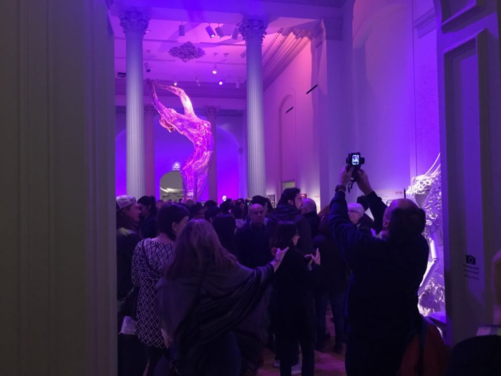 PHOTOS: Crowds Were Insane at the Renwick's Burning Man Exhibit on Sunday