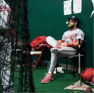 Check Out Some of Bryce Harper's Freshest Cleats