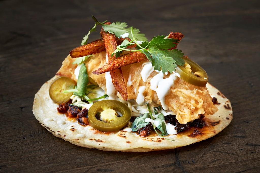 Best tacos taqueria DC Chinatown Taco Bamba