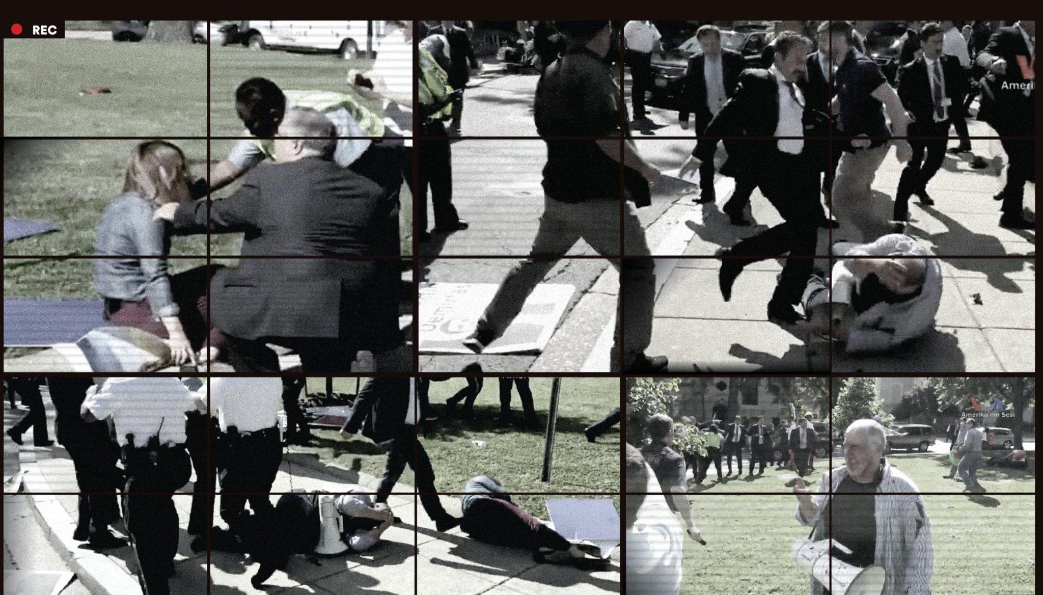 The Turkish Embassy Beat-Down
