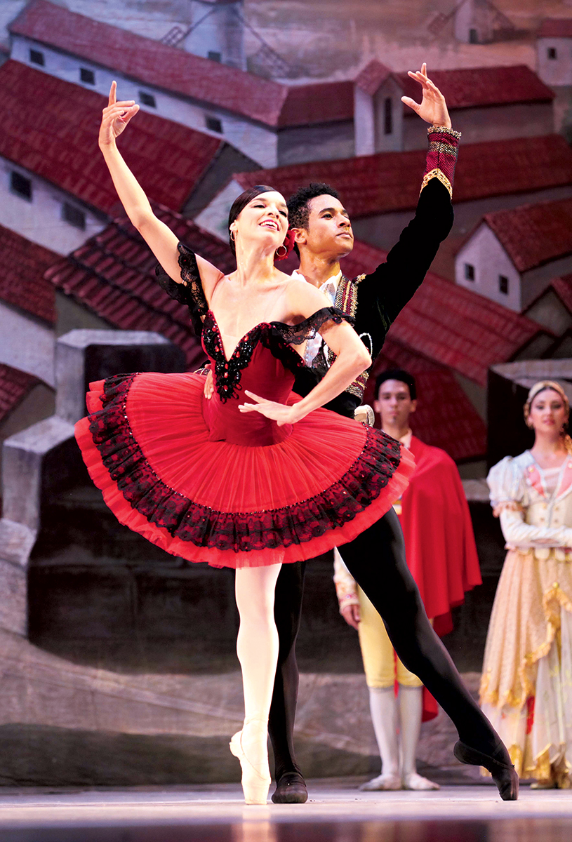 Photograph of Ballet Nacional de Cuba by Nancy Reyes.
