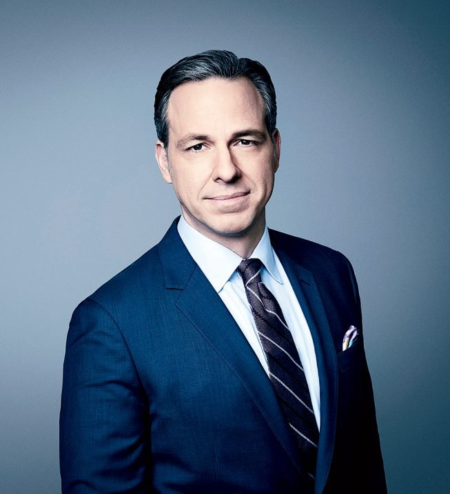 Photograph of Tapper courtesy of CNN.