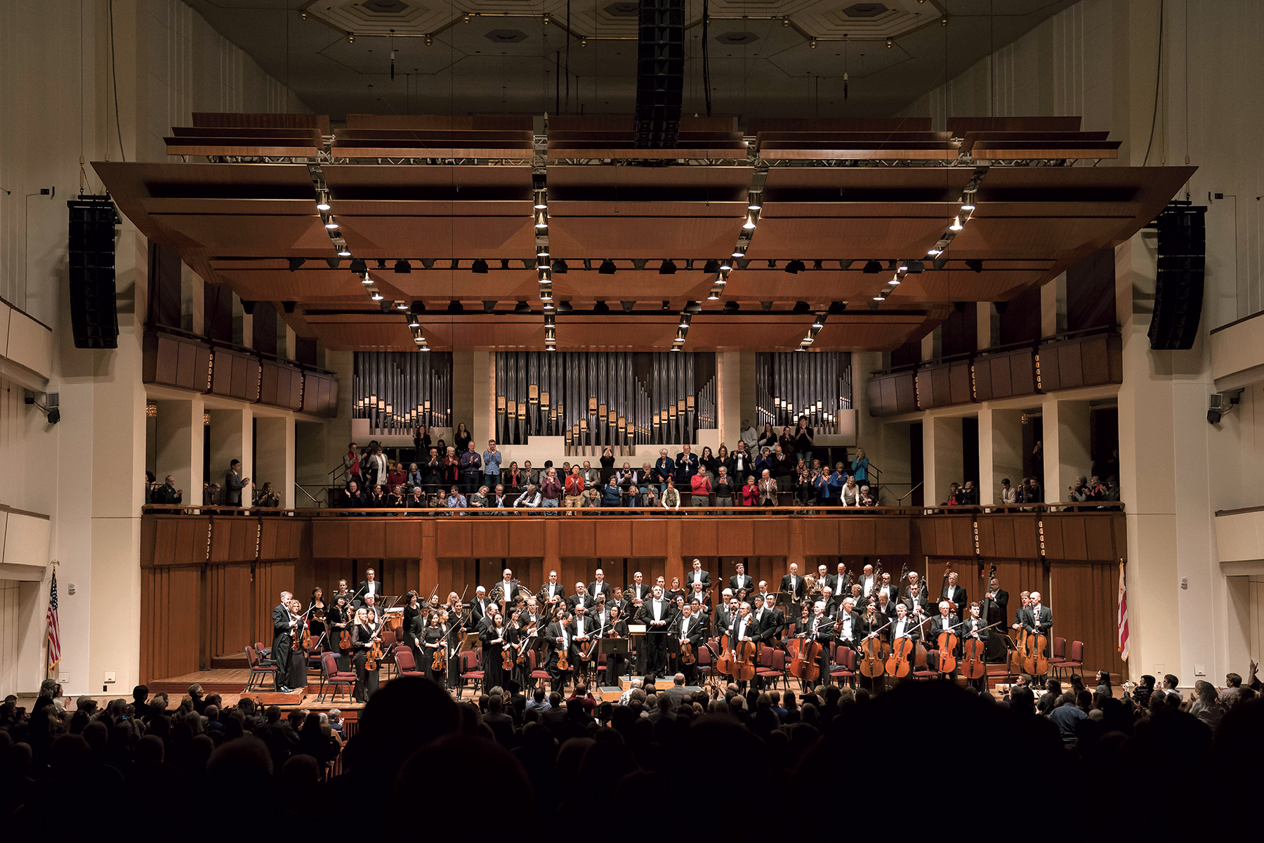 Washington Performing Arts recently brought the Chicago Symphony Orchestra to the Kennedy Center. Photograph by Todd Rosenberg.