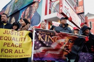 PHOTOS: Ben's Chili Bowl Honors MLK With a March and Vigil