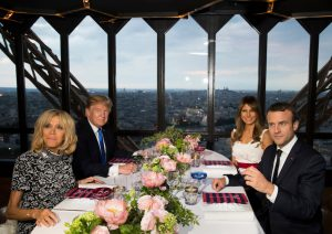 Four Takeaways From the Trumps' First State Dinner Menu