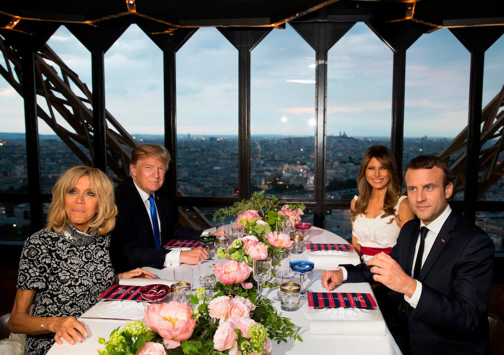 Trump Macron state dinner