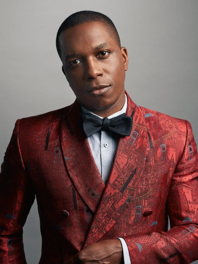 Leslie Odom Jr. Photograph by Nathan Johnson.