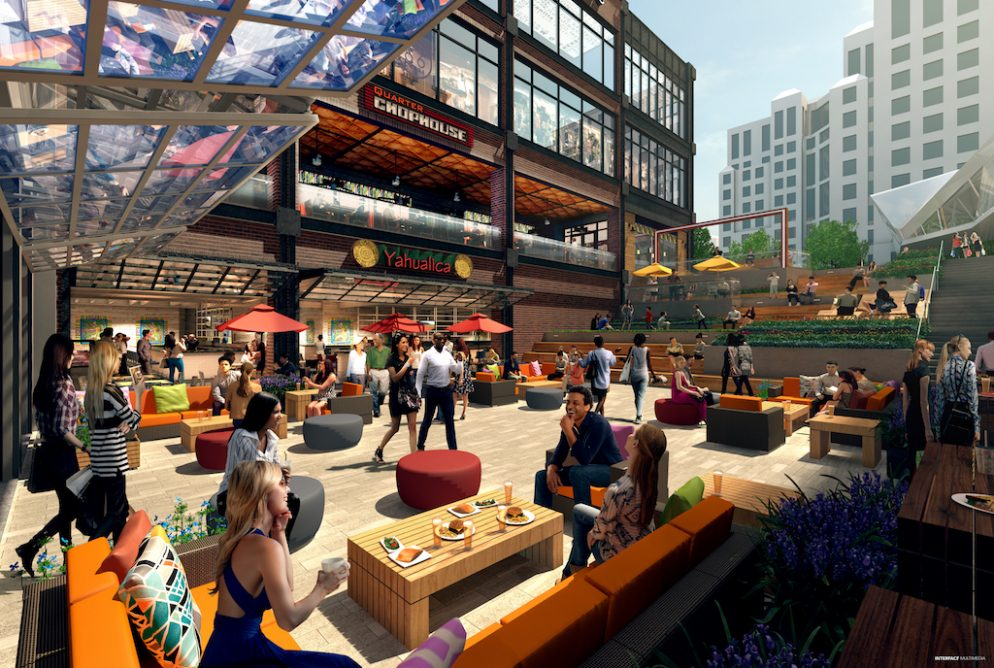 An Oyster Bar and Ted's Bulletin Are Among the New Restaurants Coming to Ballston's Food Hall
