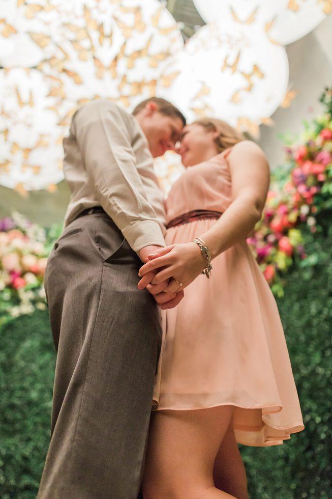 Cherry Blossom Pop-Up Bar Engagement Shoot | Melissa Batman21