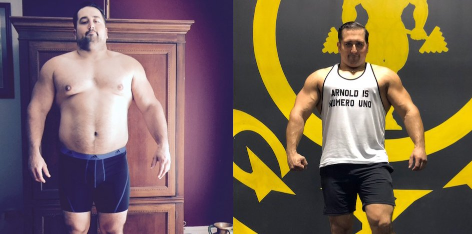 How I Got This Body: He Lost 65 Pounds and Got Arnold Schwarzenegger