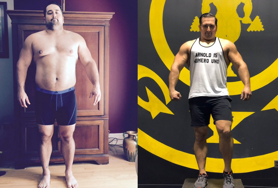 How I Got This Body: He Lost 65 Pounds and Got Arnold Schwarzenegger As His Life Coach