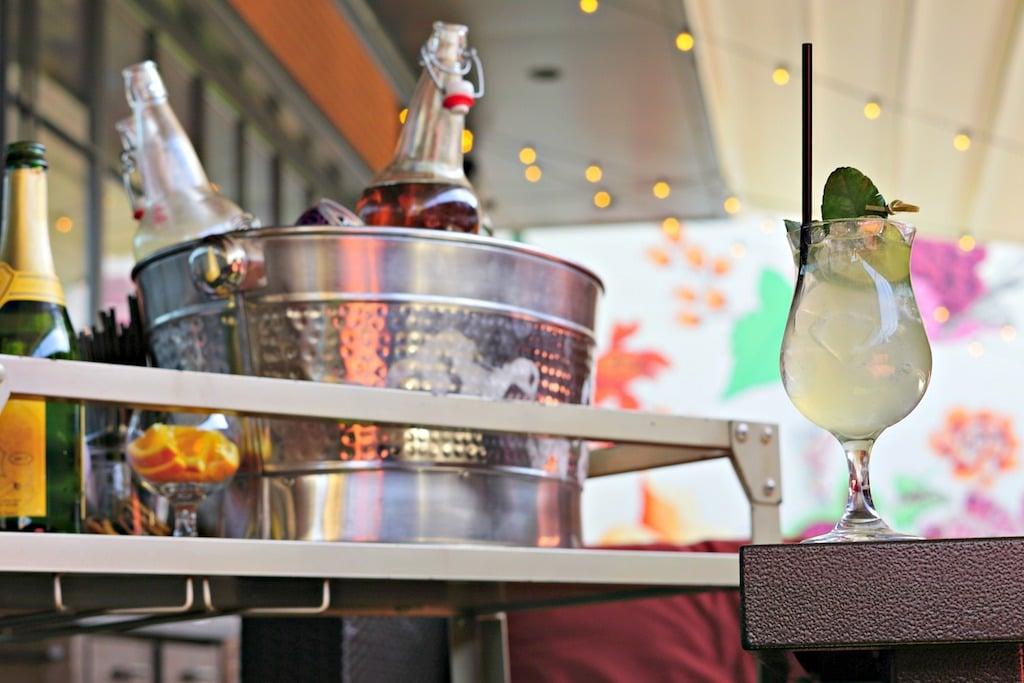 Best bars drink outside patio Hazel Shaw.