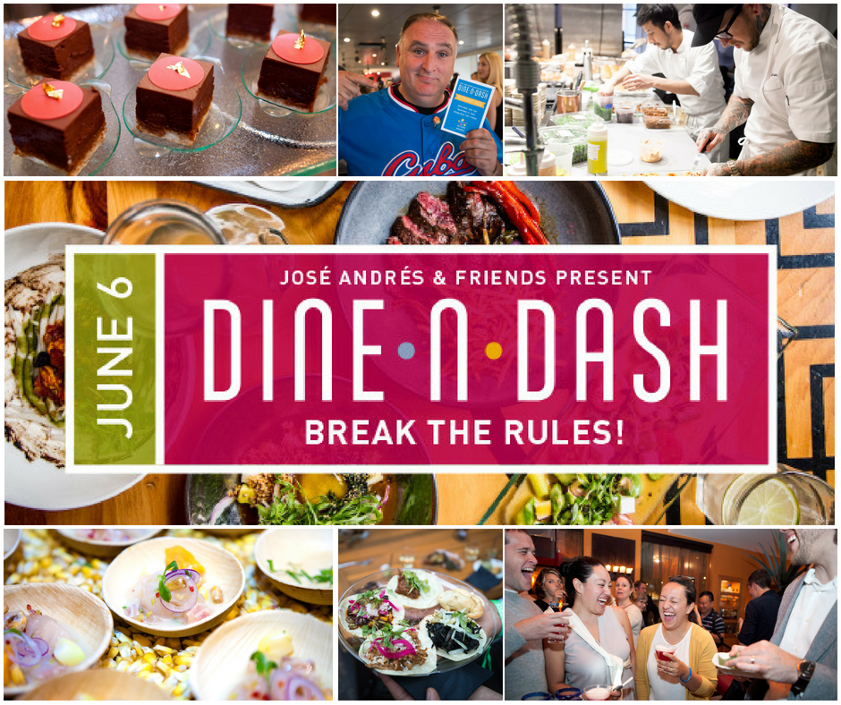 Dine-N-Dash, hosted by José Andrés, benefitting World Central Kitchen