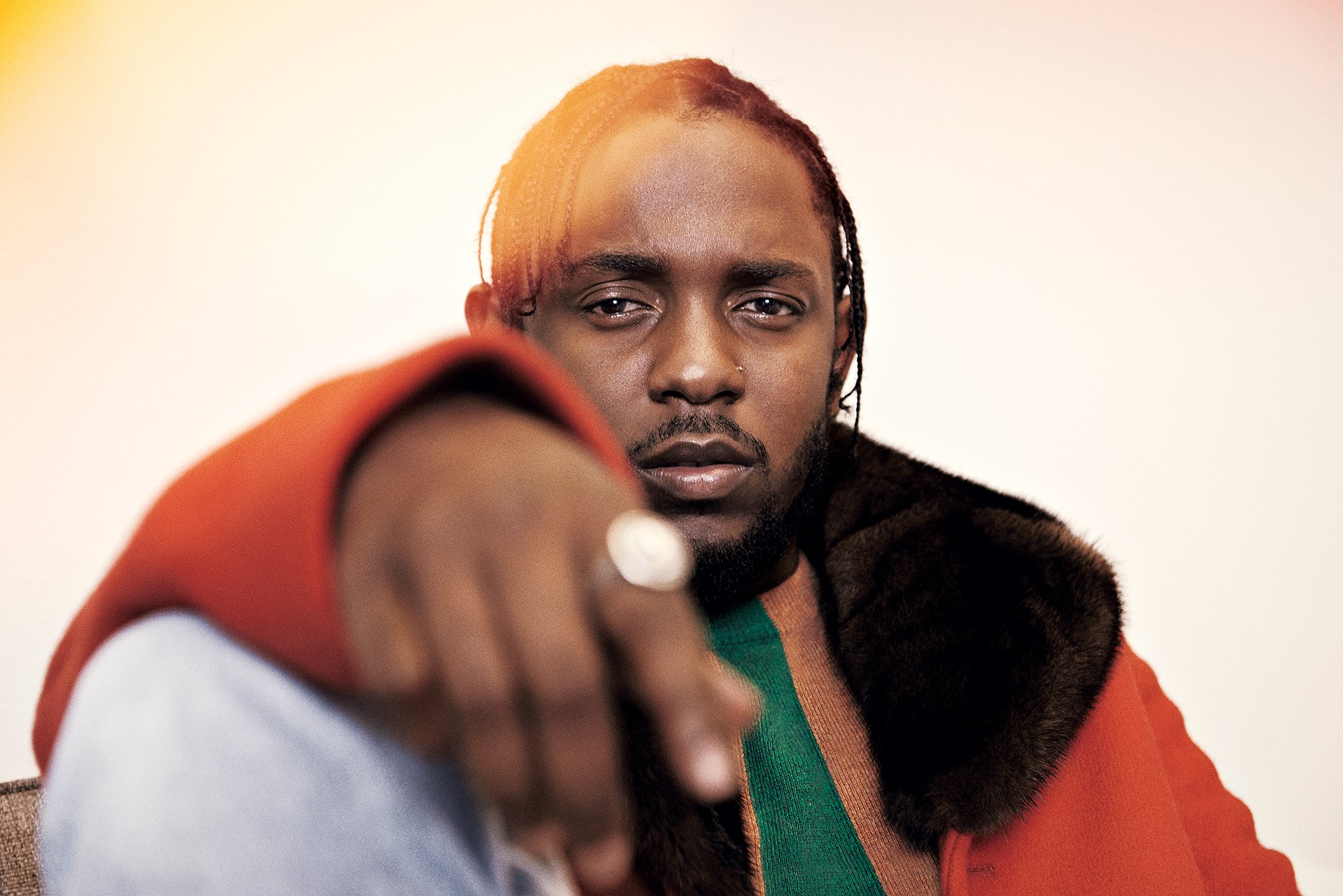 Humble genius: Rapper Kendrick Lamar. Photograph by Trunk Archive.