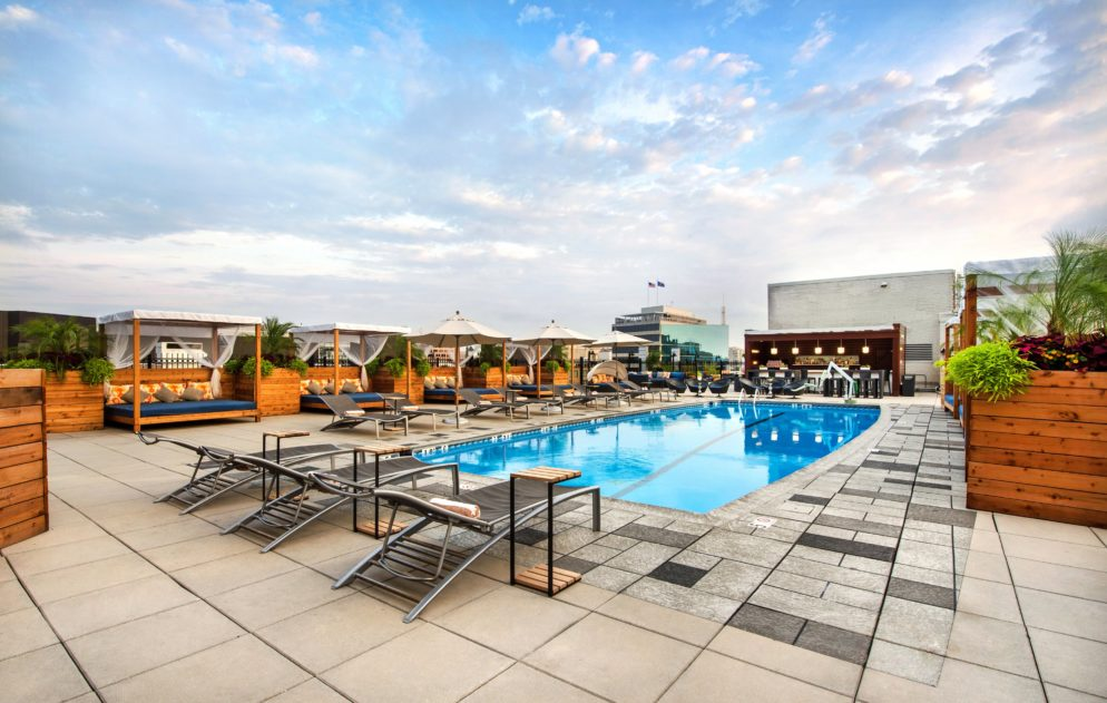 Water Cycling Is Coming to Rooftop Pools in Capitol Hill and Crystal City
