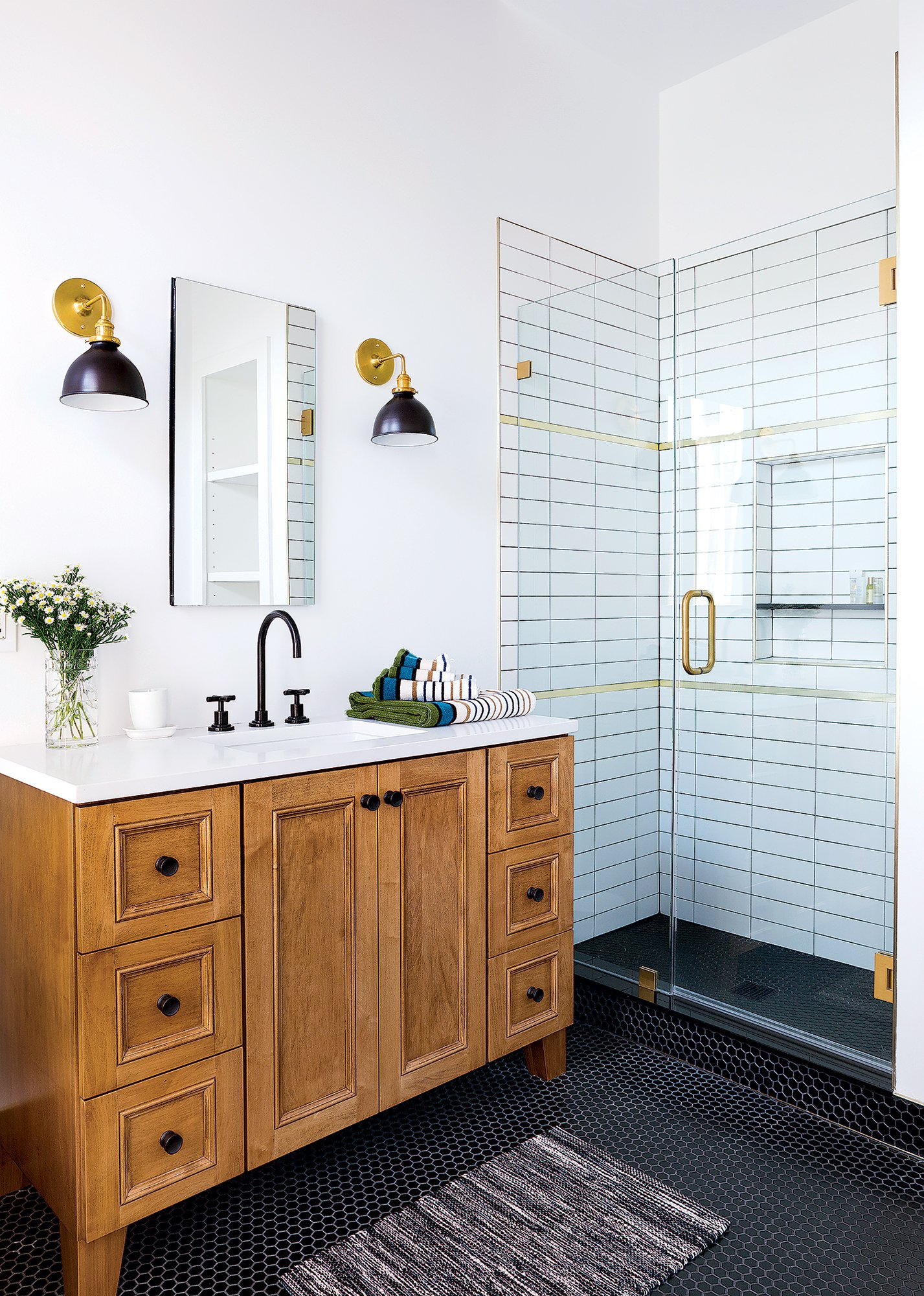 Mixing Metals Is The Bathroom Trend You Need To Try