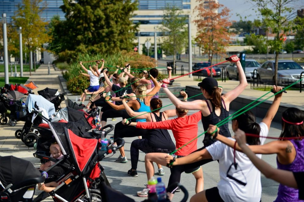 """Celebrate Mother's Day with a Week of Free """"Stroller-Based"""" Workouts"""