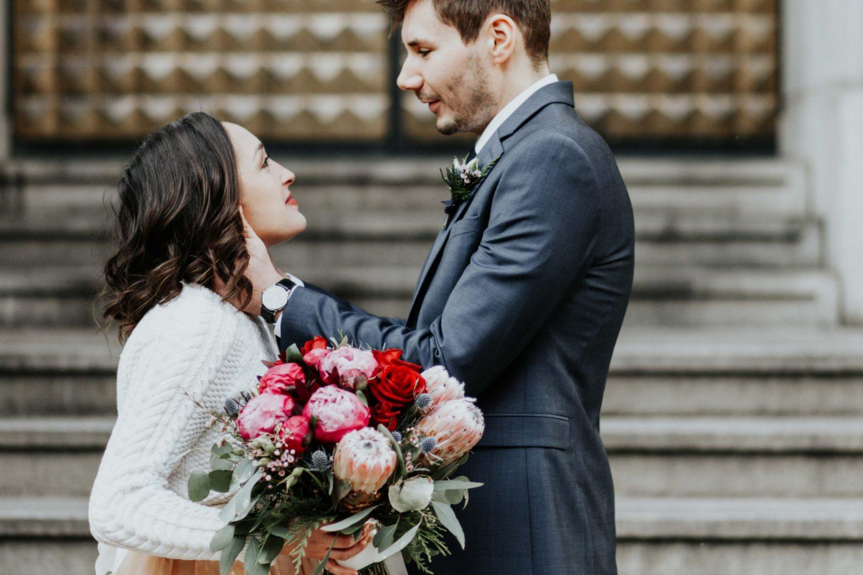 Sara Nicholes + Jacob Cooley Baltimore Courthouse Wedding Juno | Elizabeth McConeghey 11