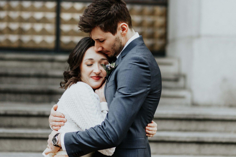 Sara Nicholes + Jacob Cooley Baltimore Courthouse Wedding Juno | Elizabeth McConeghey 14