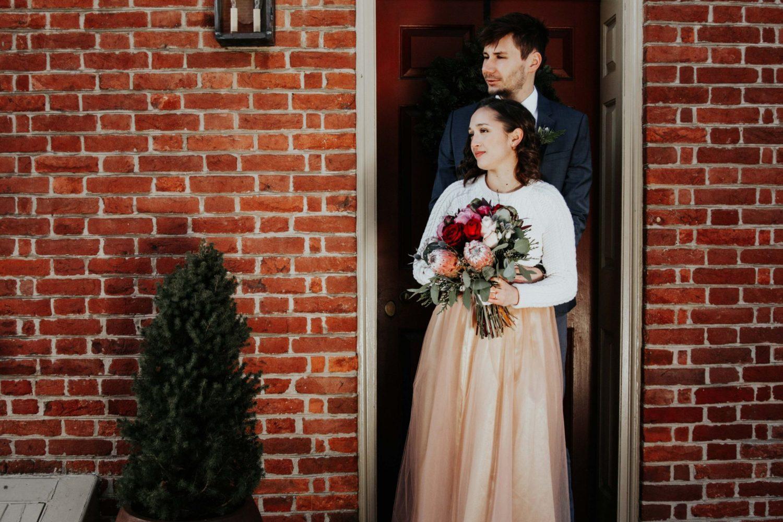 Sara Nicholes + Jacob Cooley Baltimore Courthouse Wedding Juno | Elizabeth McConeghey 6