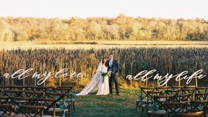 A Botanical-Themed Wedding in the Virginia Countryside Incorporated Script in the Most Beautiful Way